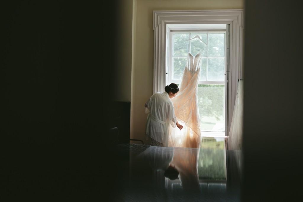Dress by the window