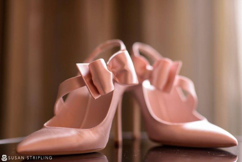 Pink Kate Spade Heels